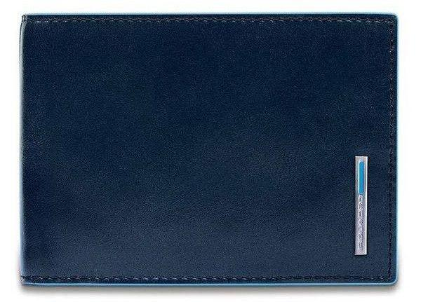 Портмоне кожаное Piquadro Blue Square (B2) PU1392B2R_BLU2, синий