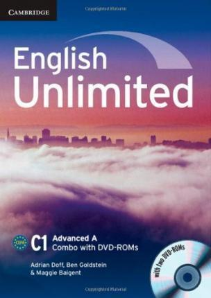English Unlimited Advanced A Combo with DVD-ROMs