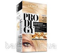 Краска для волос Loreal PRODIGY 10.21 (Платина)