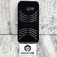 Силиконовый чехол для Samsung A3 2017 (А320) Черный, фото 1