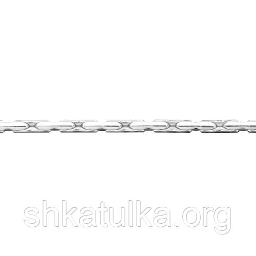 Цепочка серебряная с плетением Анкер