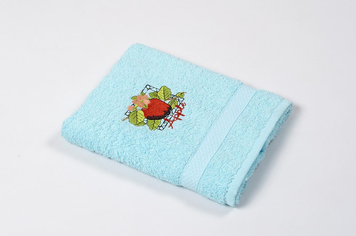 Полотенце кухонное Lotus Sun - Apple бирюзовый 40*70