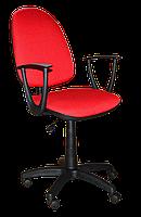 Кресло Jupiter GTP Sonata C-16 обивка ткань красный