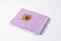 Полотенце кухонное Lotus Sun - Apple лиловый 40*70