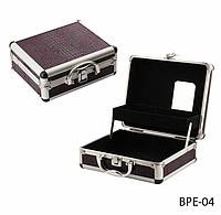 Профессиональный кейс для визажистов, парикмахеров и мастеров маникюра фиолетовый Lady Victory LDV BPE-04 /01