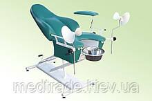 Крісло гінекологічне з механічним регулюванням висоти