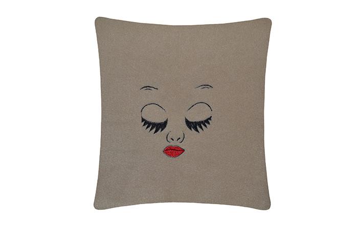 Подушка подарочная Глазки Сон. Разные цвета