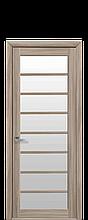 Дверное полотно Виола Сандал со стеклом сатин