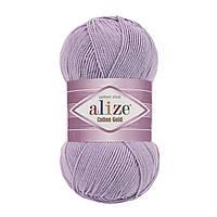 Alize Cotton Gold лиловый № 166
