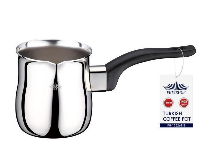 Турка Peterhof 410 мл PH 12526 S-8 турка для заварки кофе с нержавеющей стали