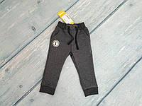 Штаны спортивные для мальчика (двунитка), р. 80 ТМ Бемби