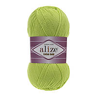Alize Cotton Gold зеленый неон № 612