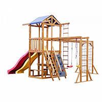 Детская площадка Babyland-12 SportBaby деревянный комплекс