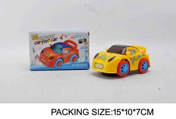 Музична машинка N9028A, світло, 2 кольори, в коробці 15-10-7 см
