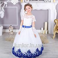 """Нарядное платье бальное платье для девочки """"Бархат"""" 4-5л, 6-7"""