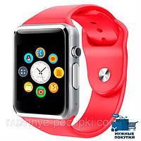 Наручные часы Smart A1,красные