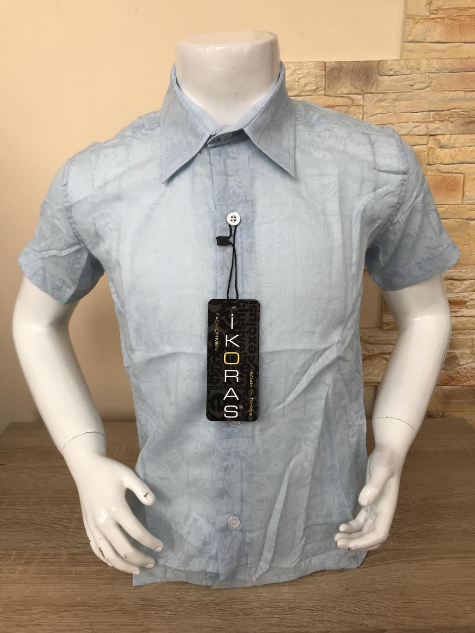Детская летняя рубашка 2-7