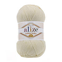 Alize Cotton Baby Soft кремовый № 01