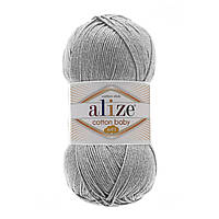 Alize Cotton Baby Soft серый № 21, фото 1