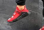 Чоловічі кросівки Adidas NMD Human RACE (червоні), фото 6