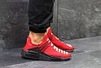 Чоловічі кросівки Adidas NMD Human RACE (червоні), фото 3