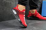Мужские кроссовки Adidas NMD Human RACE (красные), фото 5