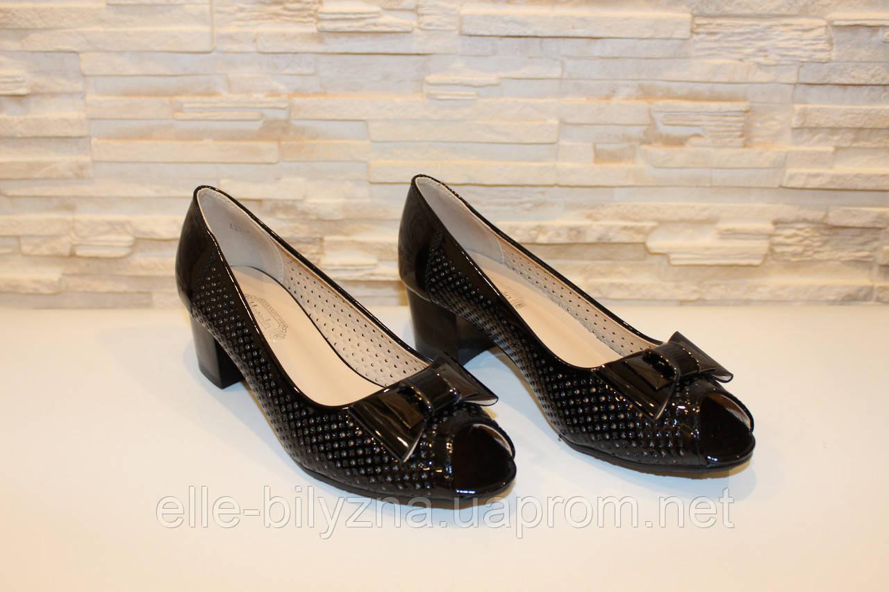 d5d2178a7 Туфли женские черные летние на каблуке код Б126: продажа, цена в ...
