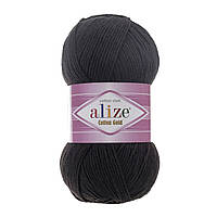 Alize Cotton Baby Soft черный № 60, фото 1