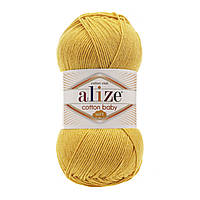 Alize Cotton Baby Soft желтый № 113 , фото 1