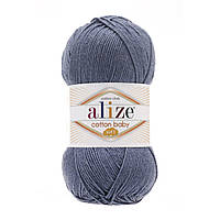 Alize Cotton Baby Soft джинс № 203 , фото 1