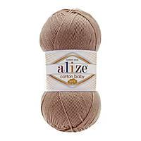 Alize Cotton Baby Soft светлая корица № 321 , фото 1