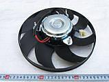 Вентилятор охлаждения радиатора Ваз 2103 2104 2105 2106 2107,Ока 1111 Лузар Luzar LFc 0103\2103-1308008, фото 4