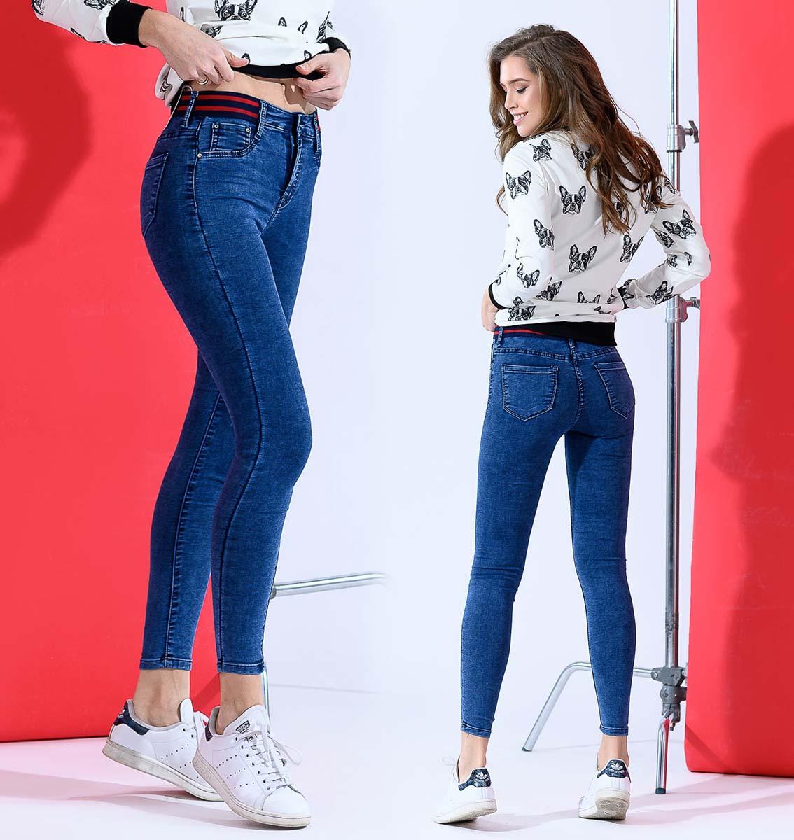 """Стильные женские джинсы стрейч """"1814"""""""