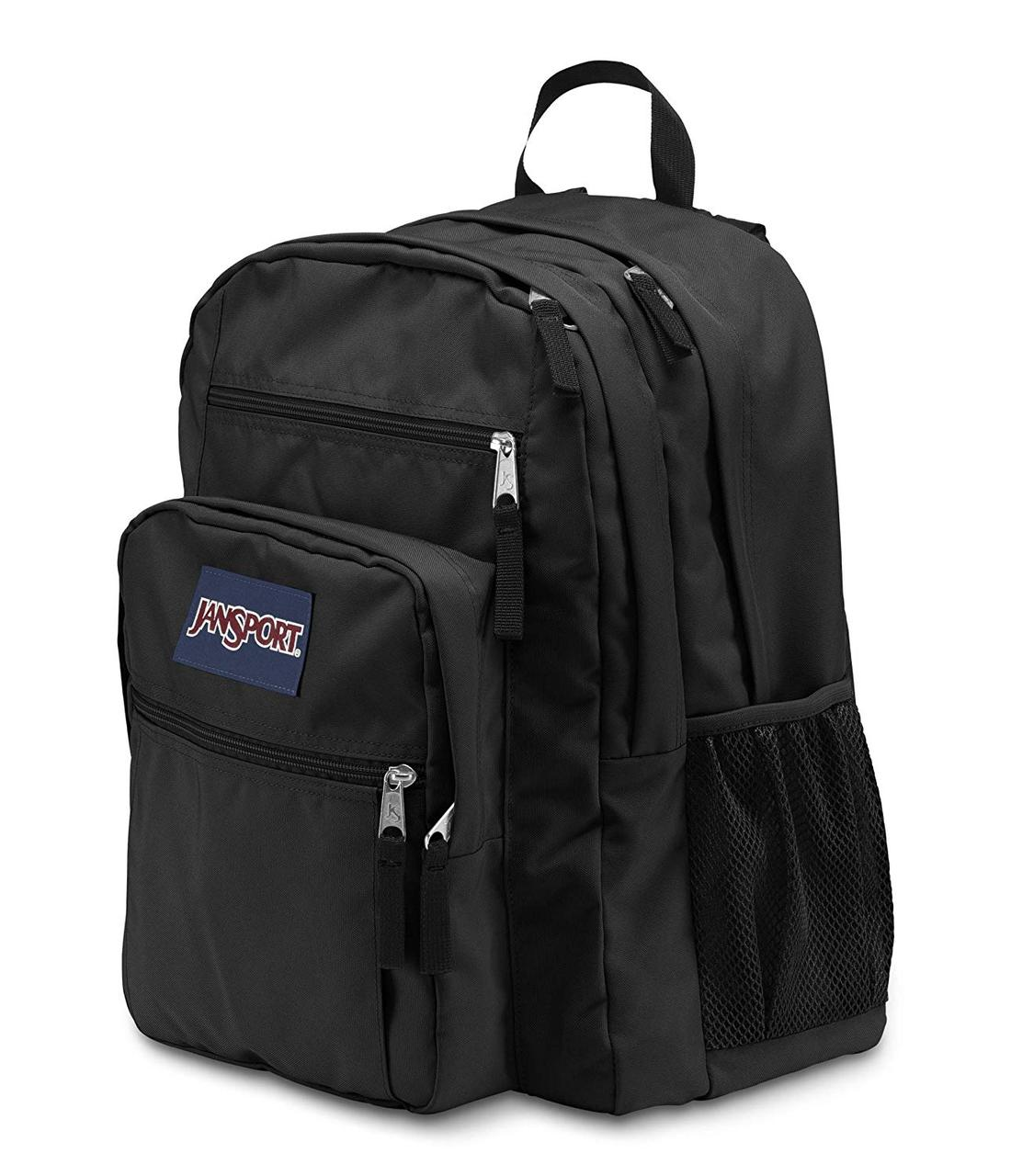 Большой рюкзак JanSport Big Student Backpack (black)