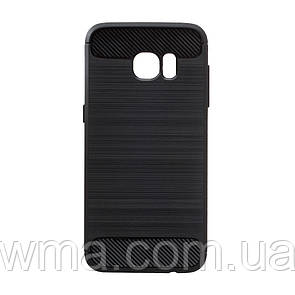 Силикон Polished Carbon Samsung S7 Edge