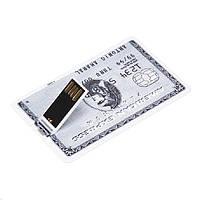Флешка кредитка №3  AMERICAN EXPRESS platinum  32Гб USB flash 32Gb