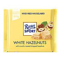 Белый шоколад Ritter Sport с лесными орехами 100 г