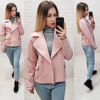 Пальто женское демисезонное короткое , фото 1