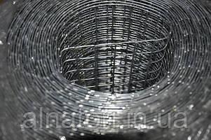 Сетка сварная оцинкованная 12х25х0,7