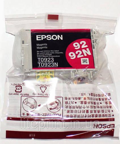 Оригинальный картридж Epson T0923, Magenta