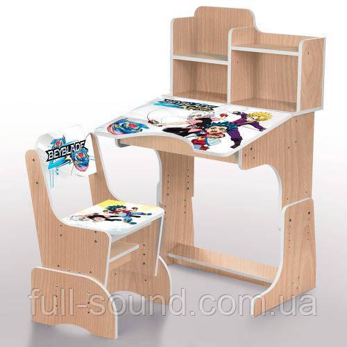 Детские парты - растишки и комплекты детской мебели. Новые модели