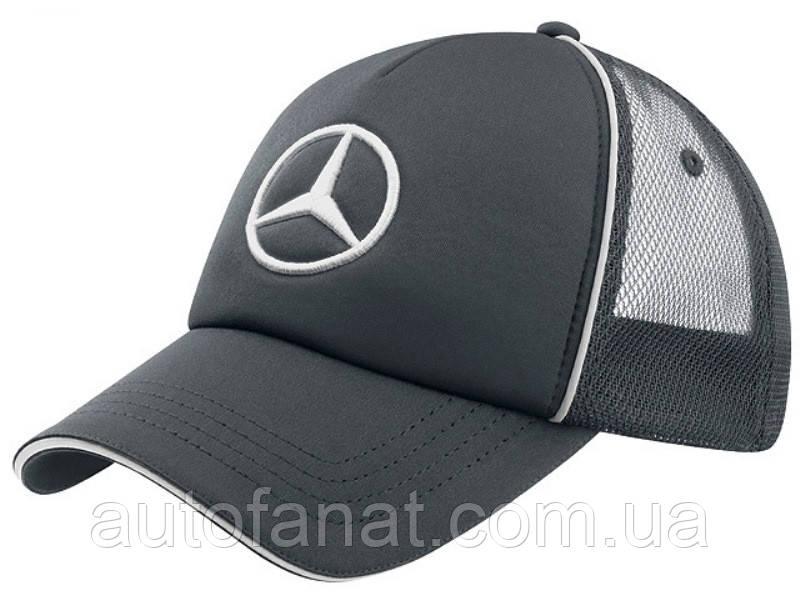 Оригинальна бейсболка Mercedes-Benz Unisex Cap Trucker Style, Grey (B67870975)