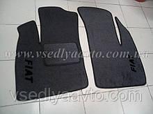 Ворсовые коврики в салон FIAT Doblo с 2001-2008 гг. (Серые)