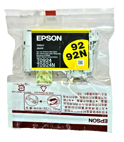Оригинальный картридж Epson T0924, Yellow