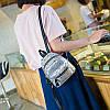 Мини-рюкзак городской женский серый, фото 8