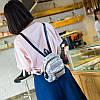 Мини-рюкзак городской женский серый, фото 7
