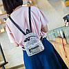 Мини-рюкзак городской женский серый, фото 6
