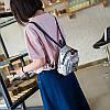 Мини-рюкзак городской женский серый, фото 5