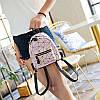 Мини-рюкзак городской женский розовый, фото 8