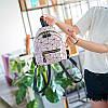 Мини-рюкзак городской женский розовый, фото 9